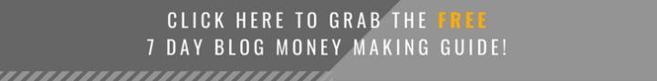 7 day blog money making guide